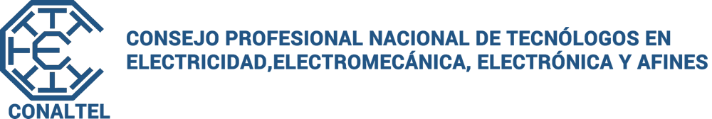 Consejo Profesional Nacional de Tecnólogos Logo